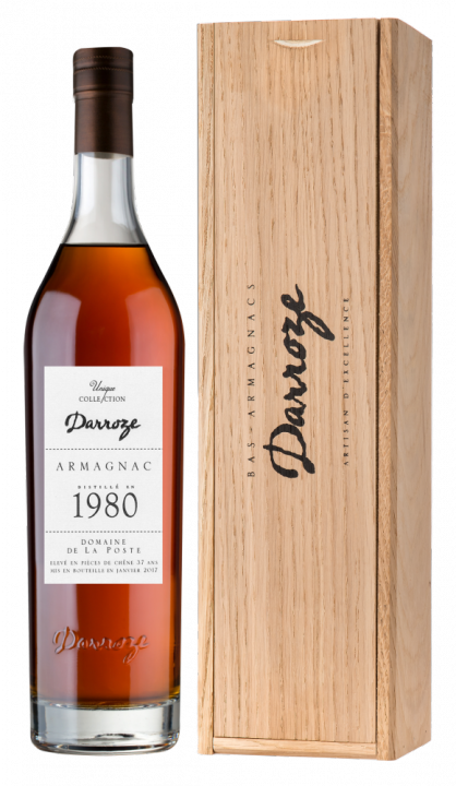 Bas-Armagnac Darroze Unique Collection Domaine de Laburthe a Lacquy 1980, 0.7 л., 1980 г.