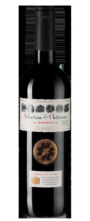 Selection des Chateaux de Bordeaux Rouge, 0.75 л.
