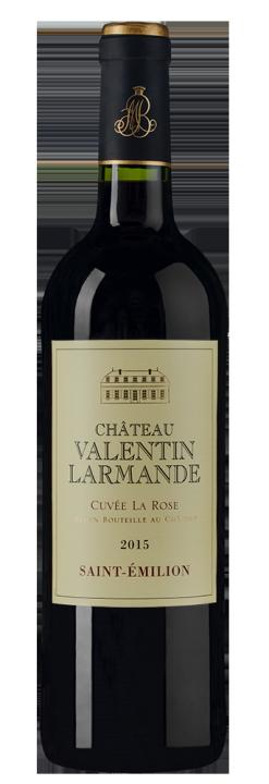 Chateau Valentin Larmande Cuvee La Rose, 0.75 л., 2015 г.