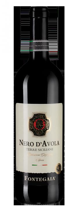 Fontegaia Nero D'Avola, 0.75 л., 2016 г.