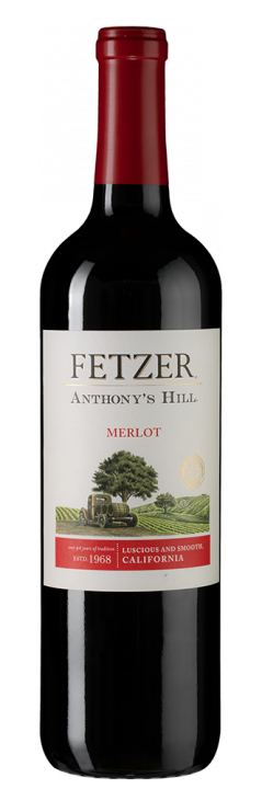 Anthony's Hill Merlot, 0.75 л.
