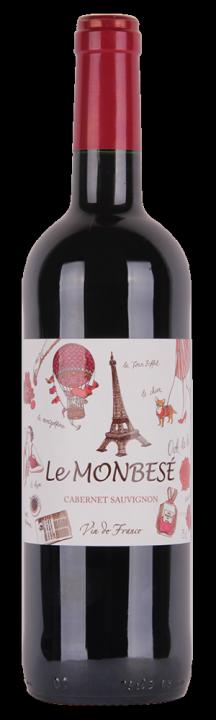 Le Monbese Cabernet Sauvignon, 0.75 л.