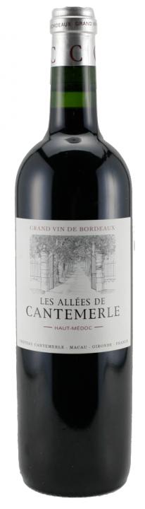 Les Allees de Cantemerle, 0.75 л., 2012 г.