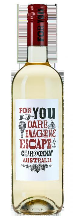 Escape Chardonnay, 0.75 л., 2017 г.