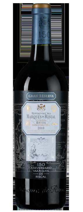 Marques de Riscal Gran Reserva 150 Aniversario, 0.75 л., 2010 г.