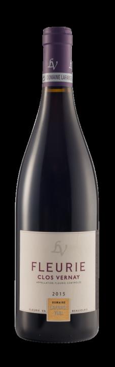 Clos Vernay Fleurie Beaujolais, 0.75 л., 2015 г.