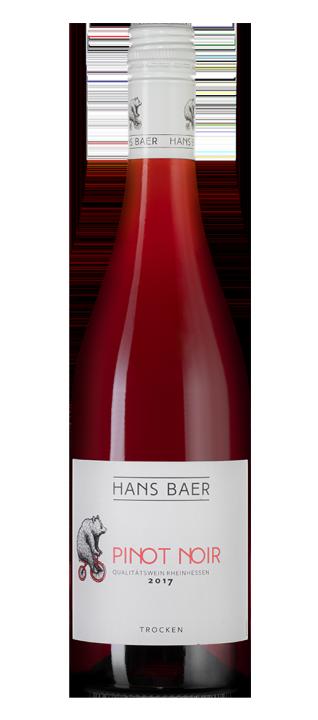 Hans Baer Pinot Noir, 0.75 л., 2017 г.