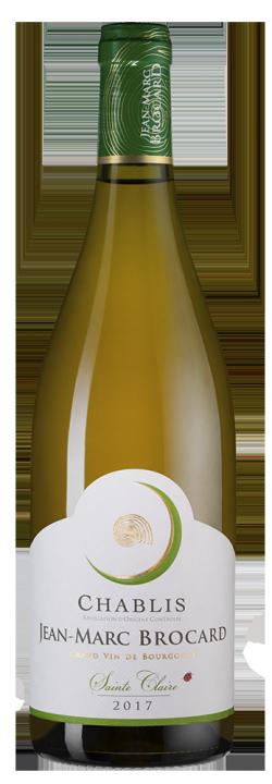 Chablis Sainte Claire, 0.75 л., 2017 г.