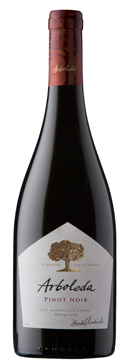 Arboleda Pinot Noir, 0.75 л., 2017 г.