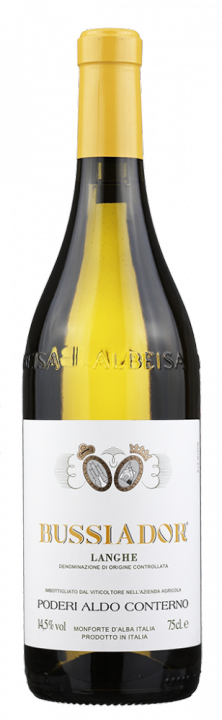 Langhe Chardonnay Bussiador, 0.75 л., 2015 г.