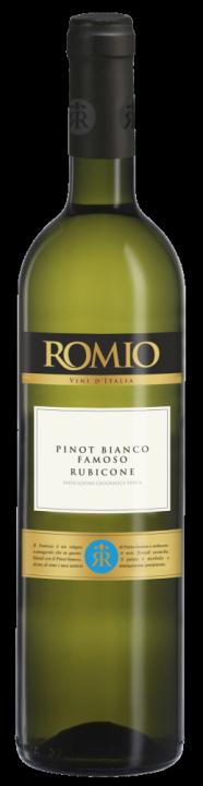 Romio Pinot Bianco Famoso Rubicone, 0.75 л., 2017 г.