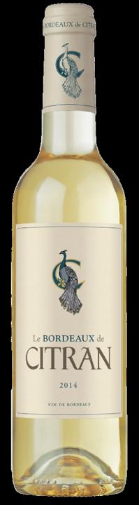 Le Bordeaux de Citran Blanc, 0.375 л., 2016 г.