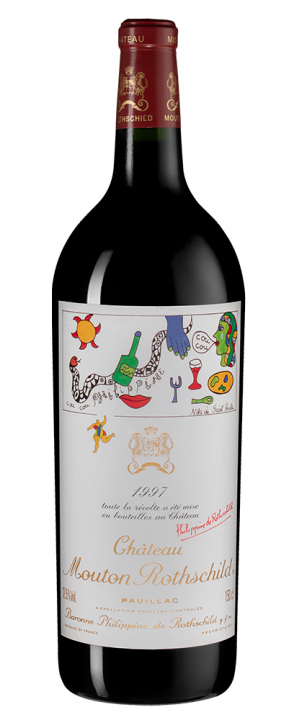 Chateau Mouton Rothschild, 1.5 л., 1997 г.