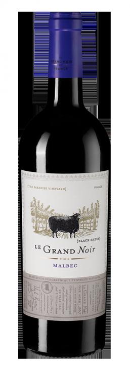 Le Grand Noir Malbec, 0.75 л., 2017 г.