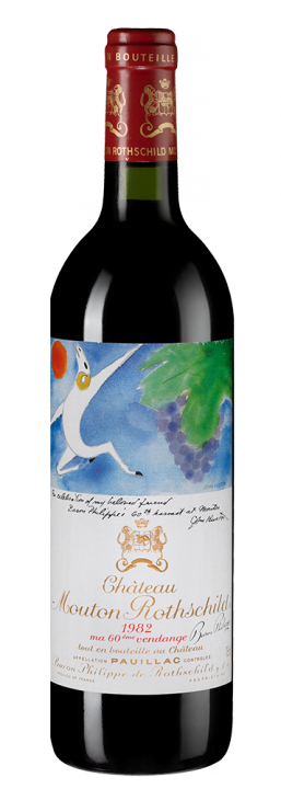 Chateau Mouton Rothschild, 0.75 л., 1982 г.