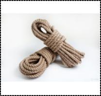 Верёвка льноджутовая 18 мм.