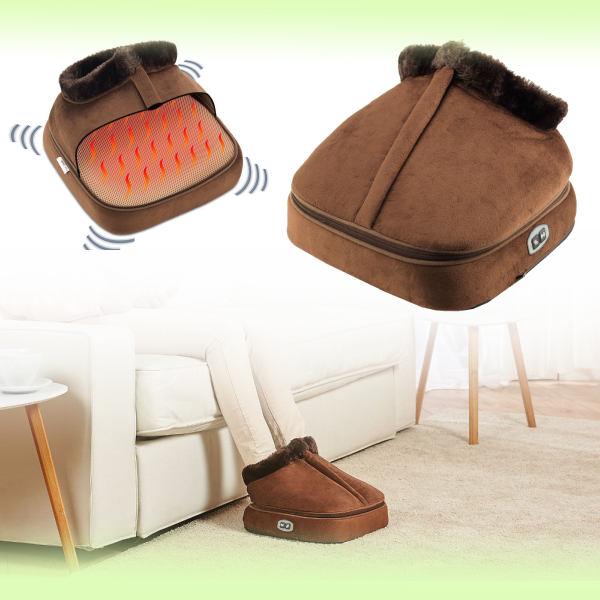 Массажёр-грелка для ног 2 in 1 Warm Massager