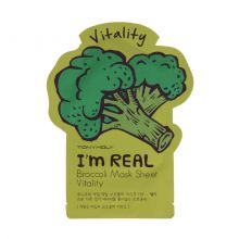 I'm Real Broccoli Mask Sheet Тканевая маска с экстрактом брокколи, 21 мл