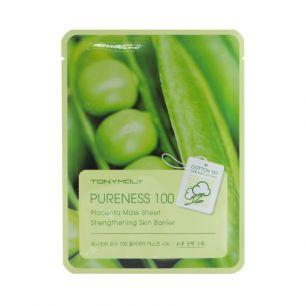 Pureness 100 Placenta Mask Sheet, Тканевая маска с экстрактом растительной плаценты