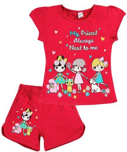 Комплект для девочек 4-8 лет BK005GL7
