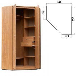 Шкаф угловой несимметричный (модуль 403)