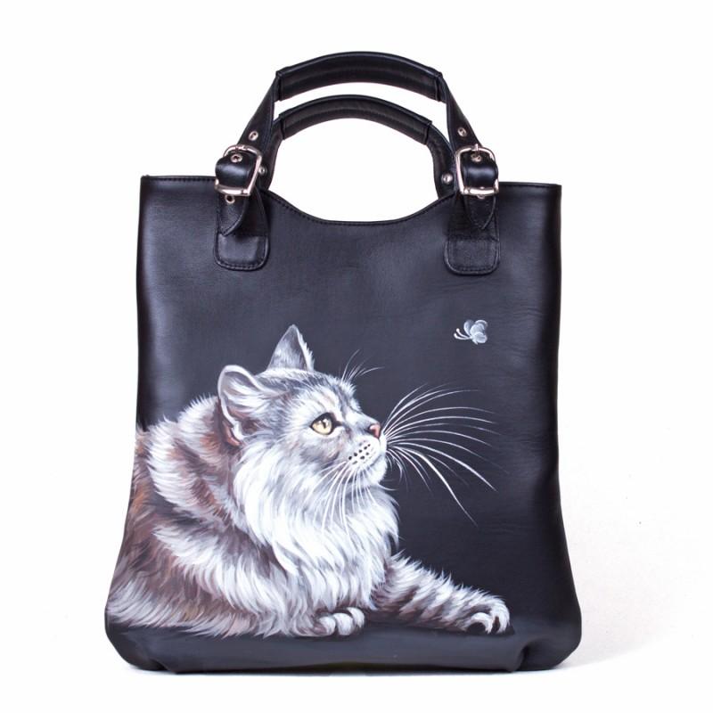 Средняя сумка Лунный котик >Артикул: AA340071