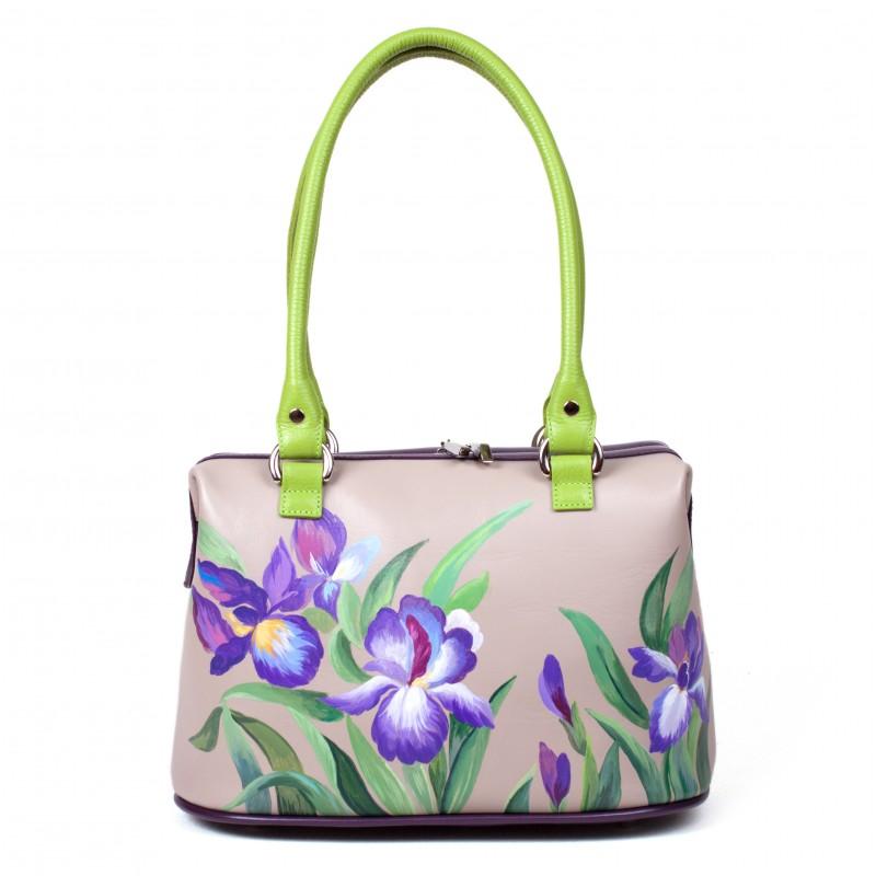Саквояж Фиолетовые орхидеи >Артикул: AB030011