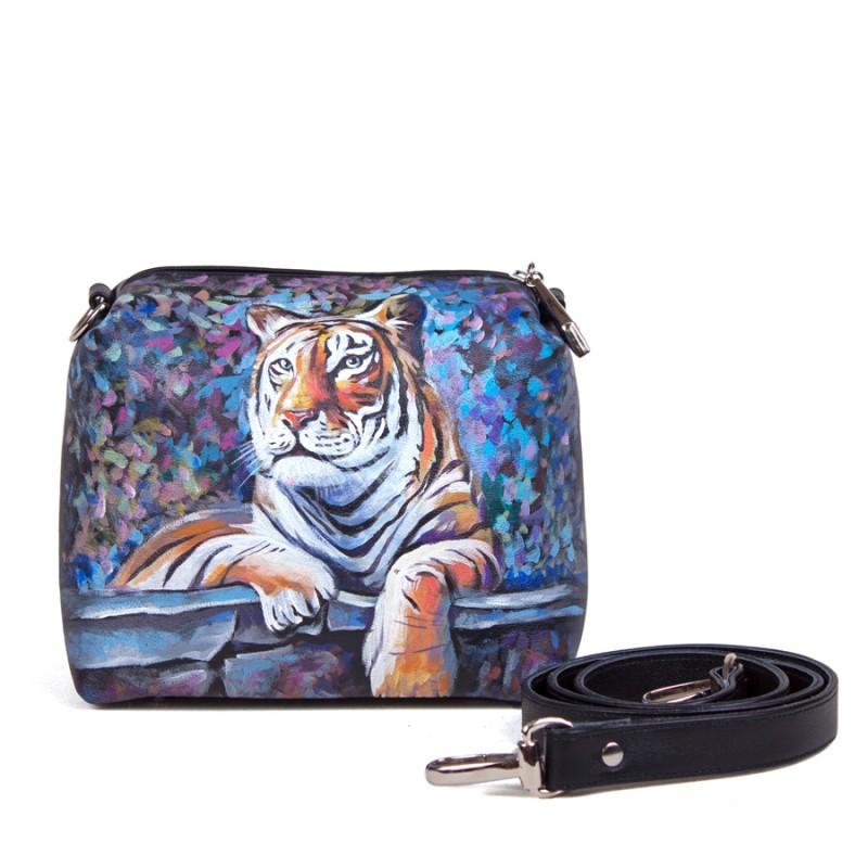 Сумочка кроссбоди Амурский тигр >Артикул: AE010061