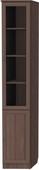 Шкаф для книг консоль левая (модуль 201) ясень шимо