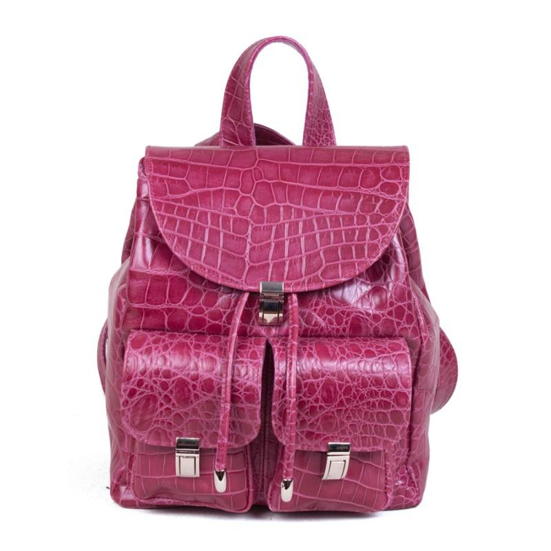 Женский рюкзак Розовый крокодил >Артикул: AF110016