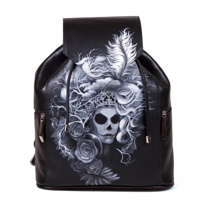 Женский рюкзак Queen of Skulls >Артикул: AF020261
