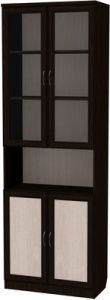 Шкаф для книг (модуль 207) венге