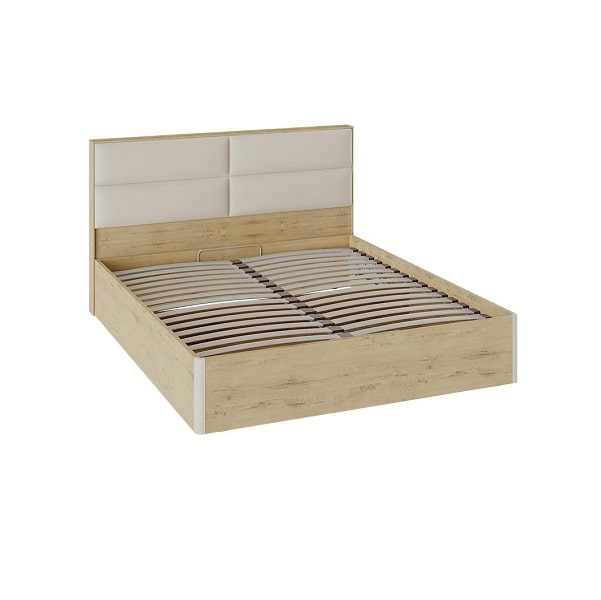 Кровать «Николь» с подъемным механизмом и мягким изголовьем