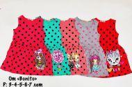 Платье в горошек для девочек 2-6 лет BN1172