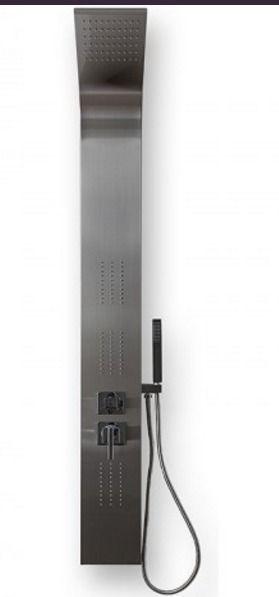 BYON (964) Душевая панель1650х180 нерж. сталь