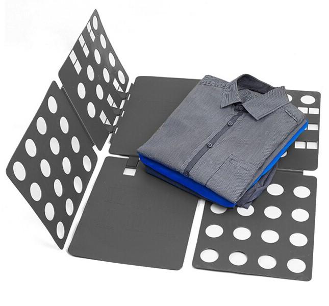 Рамка Для Складывания Взрослой Одежды Clothes Folder, Цвет Серый
