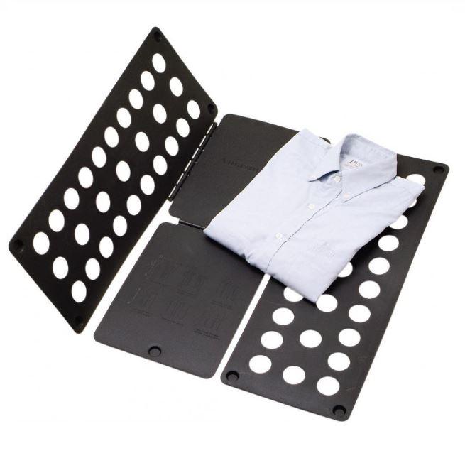 Рамка Для Складывания Взрослой Одежды Clothes Folder, Цвет Черный