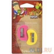 Точилки пластмассовые Action! Fruit Ninja, 2 шт, блистер с е/п (арт. FN-ASH200)