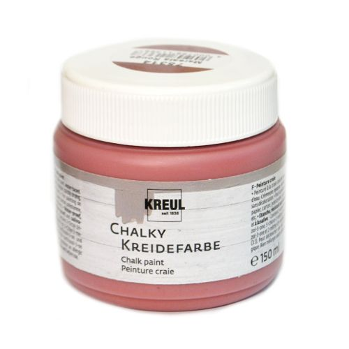 Краска меловая Chalky Kreidefarbe, Marsala Rouge (Марсала), 150 мл