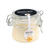 Крем-мёд Medolubov с кедровым орехом 250мл бугель